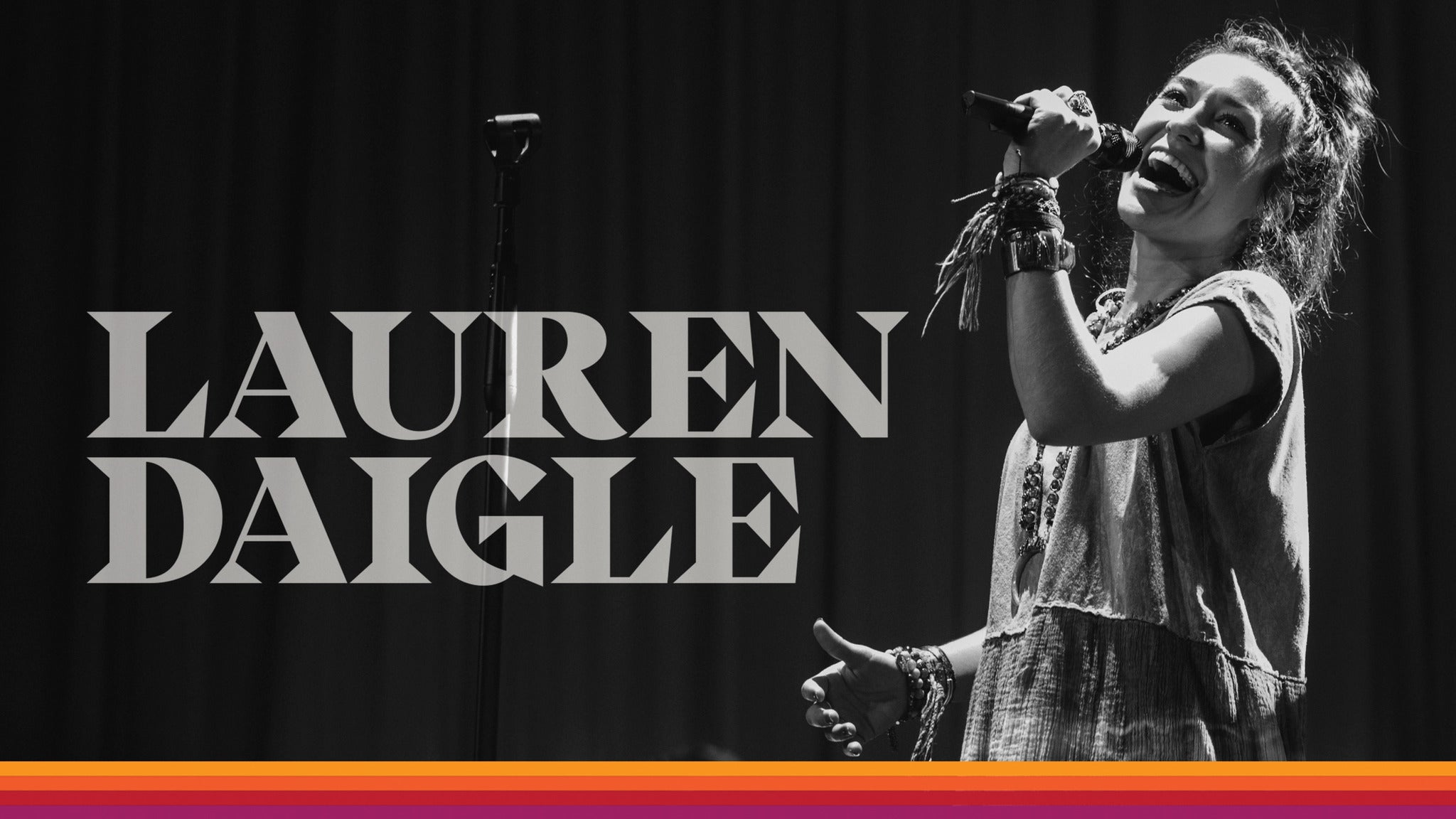 Lauren Daigle at Grossinger Motors Arena