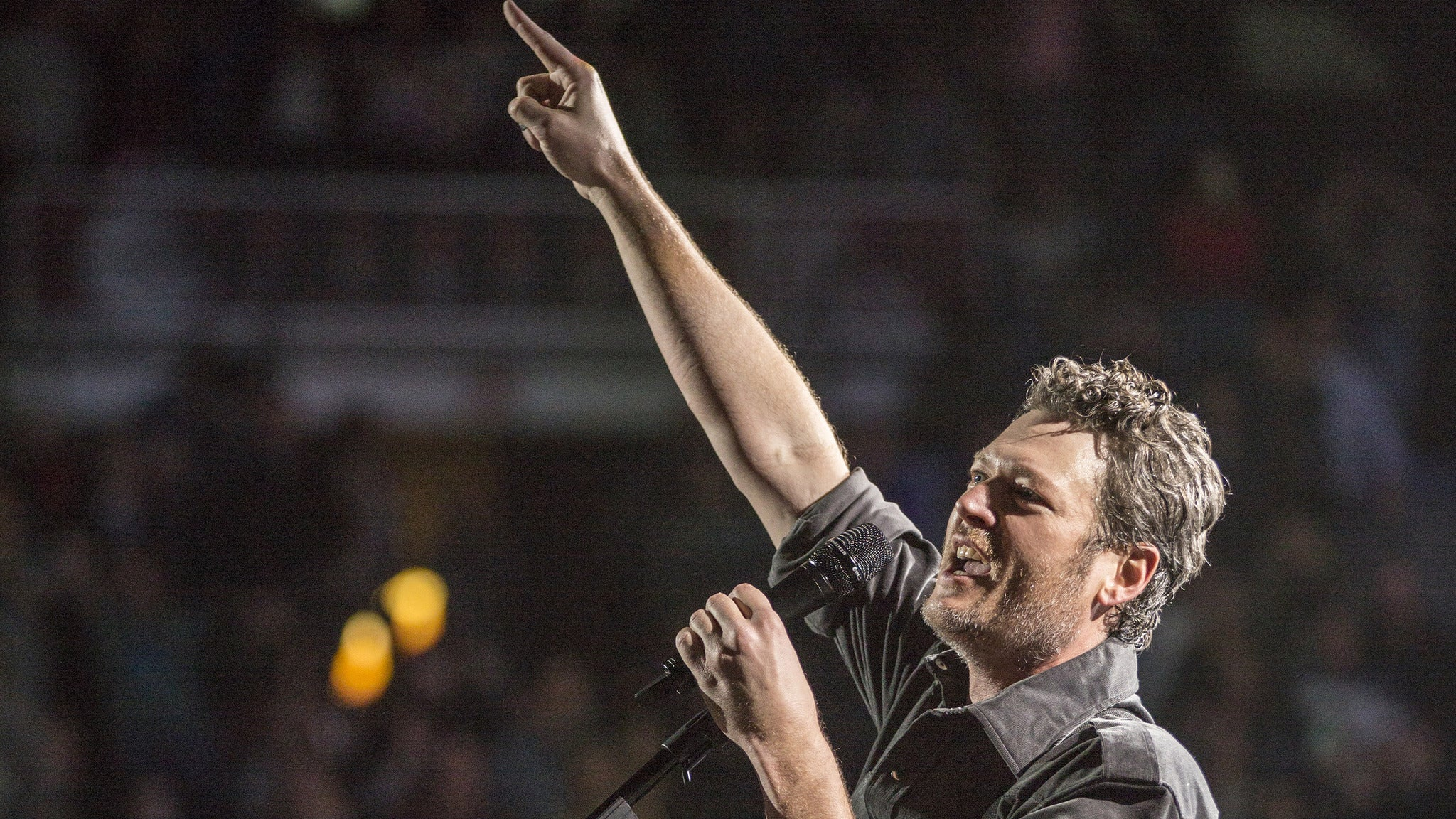 Blake Shelton at Delaware State Fair