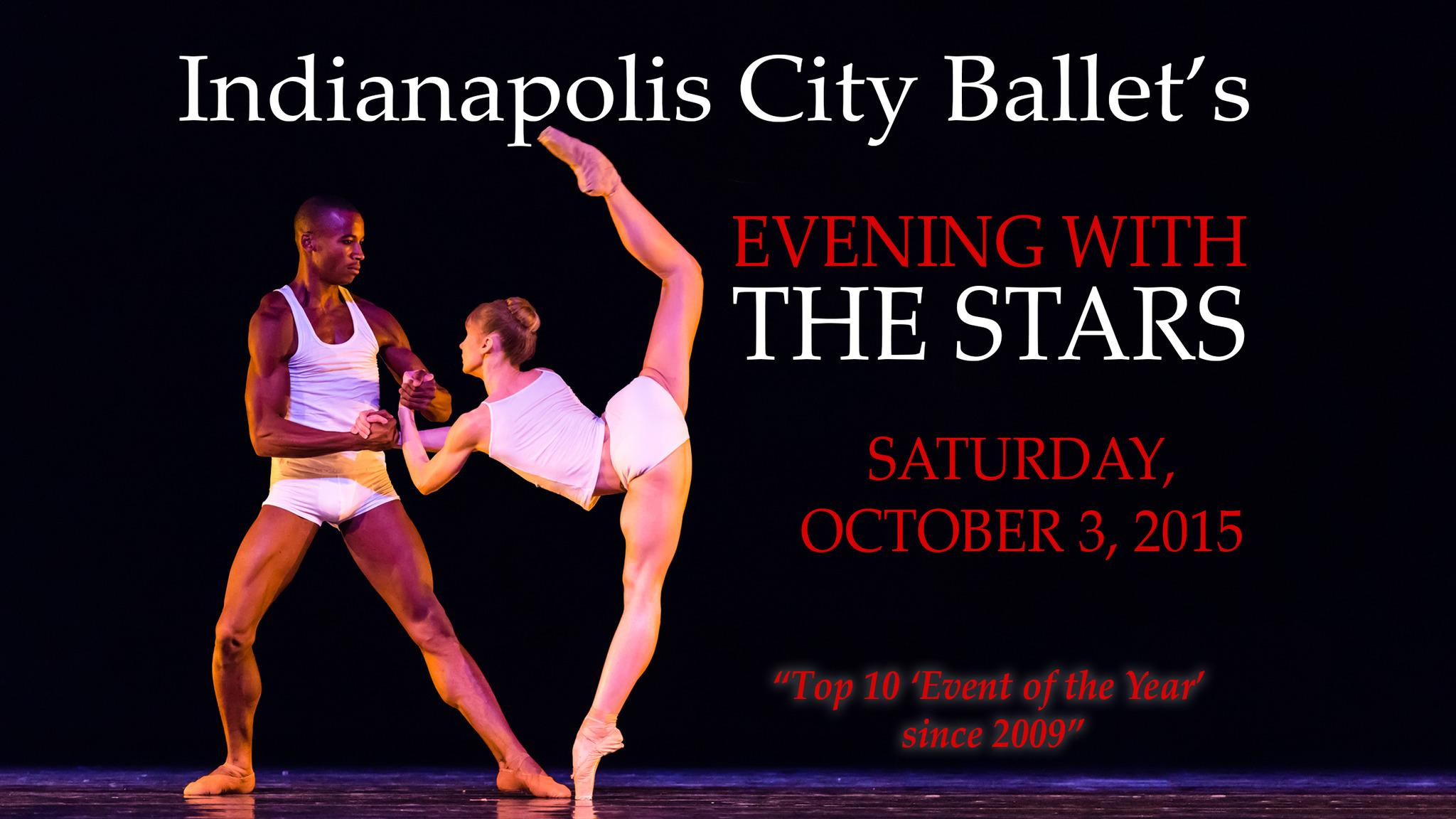 Indianapolis City Ballet's Evening with the Stars - Indianapolis, IN 46204