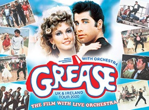 Grease In Concert - Film with Live Orchestra Event Title Pic