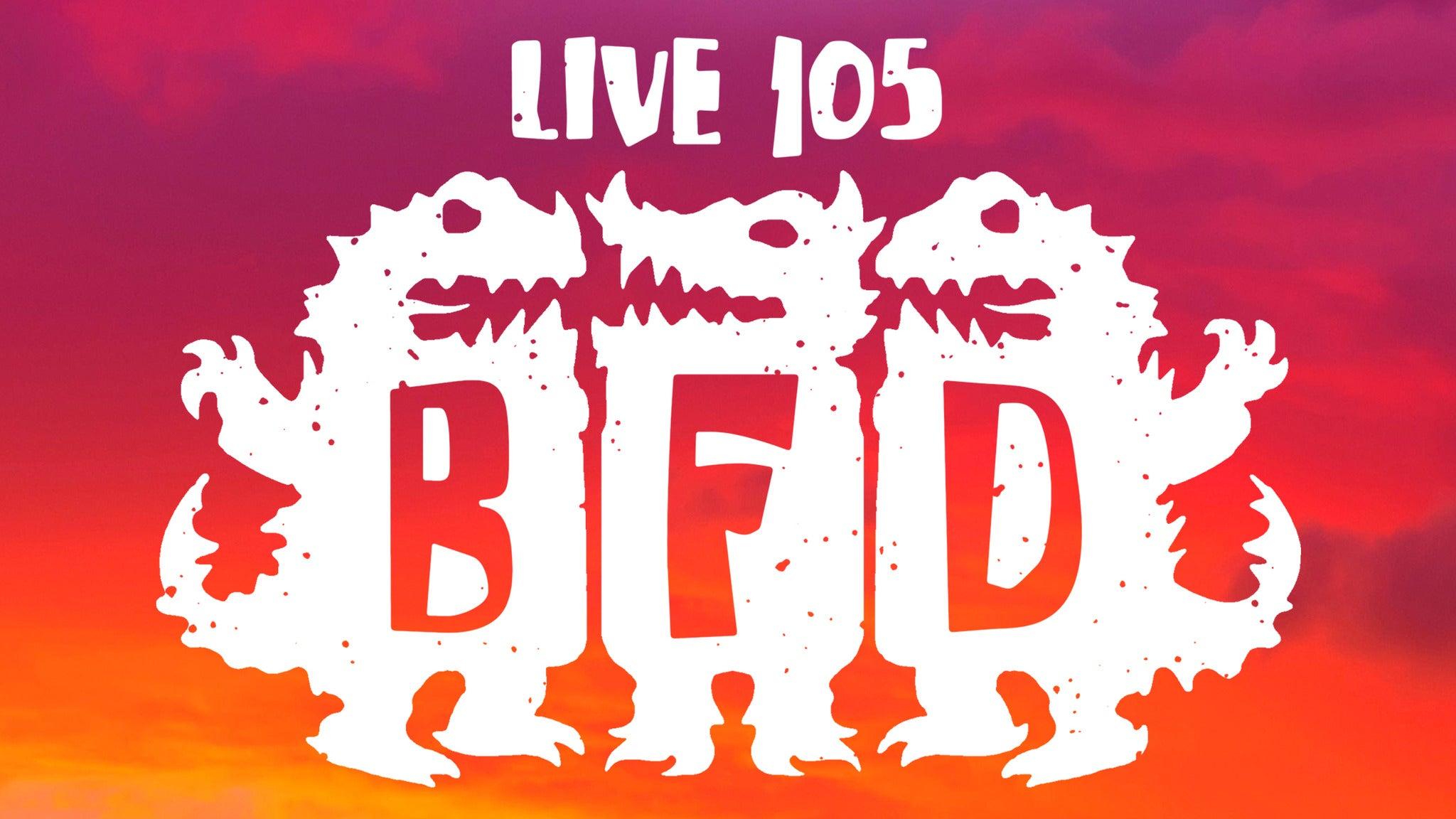 LIVE 105 BFD 2017 at Shoreline Amphitheatre