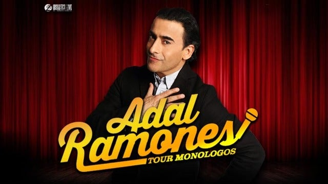 Adal Ramones at The Plaza Theatre Performing Arts Center