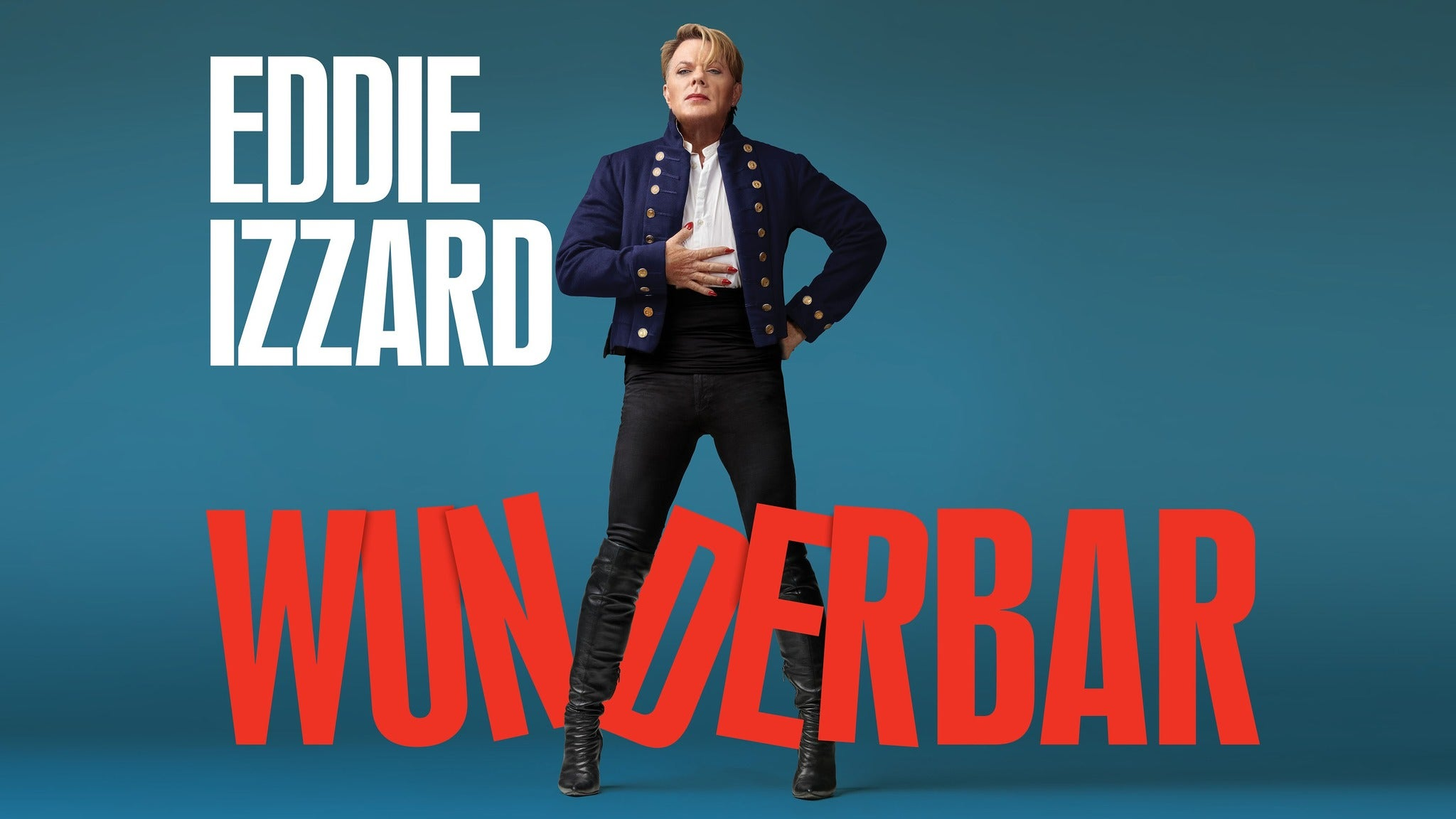 Eddie Izzard - Wunderbar Seating Plans
