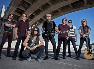 Foreigner performing with Full Band and Rock Orchestra