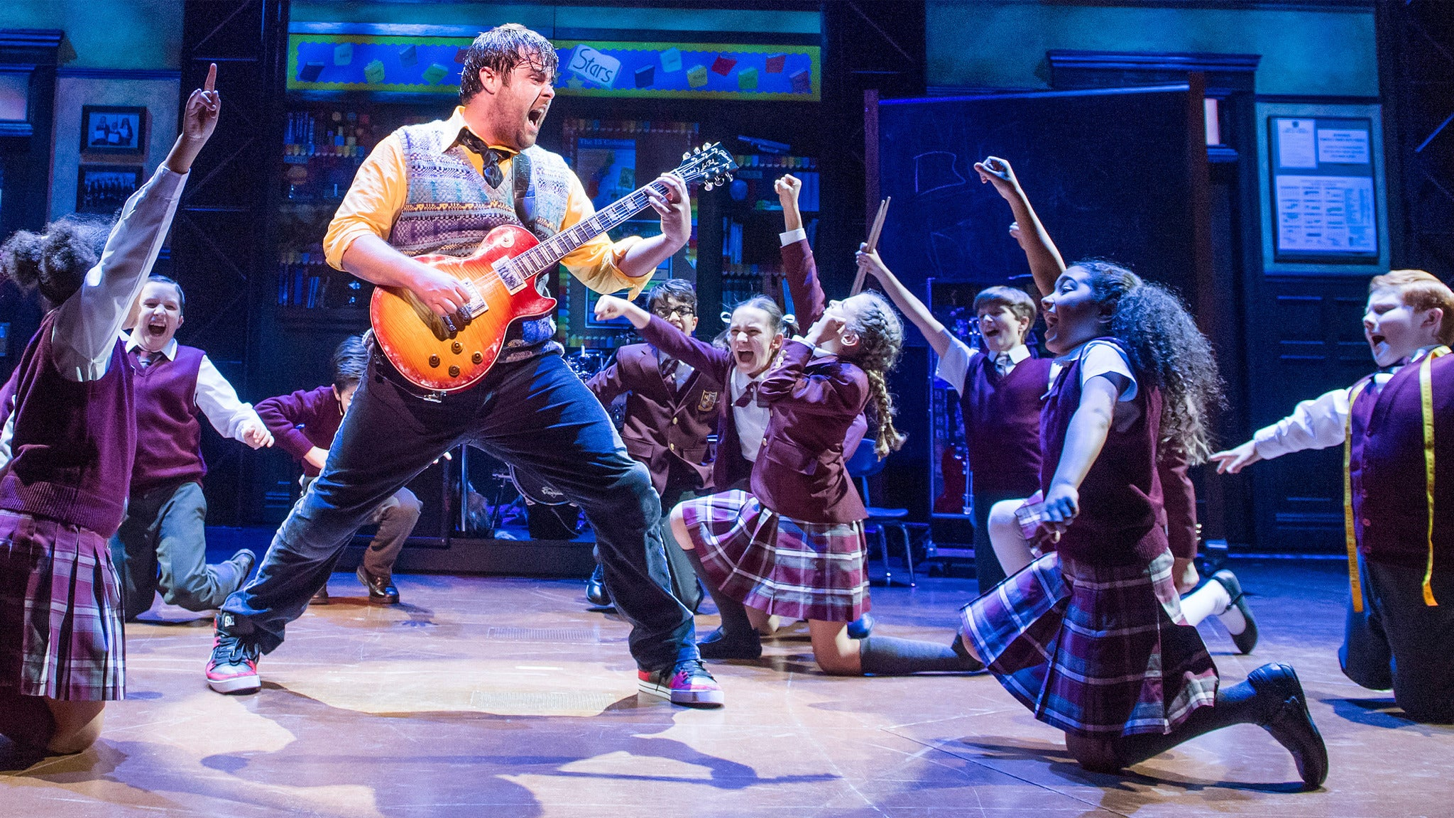 School of Rock - The Musical (Chicago) at Cadillac Palace