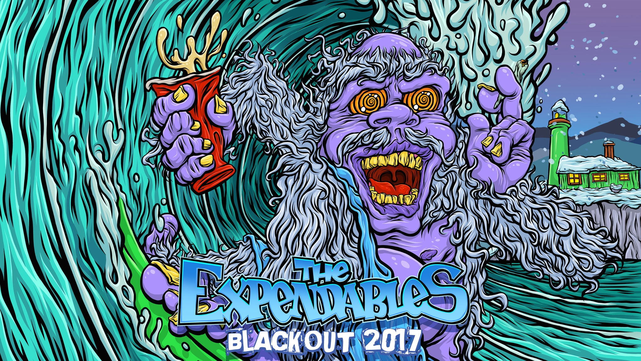 The Expendables, Hirie, Tribal Theory at Mystic Theatre