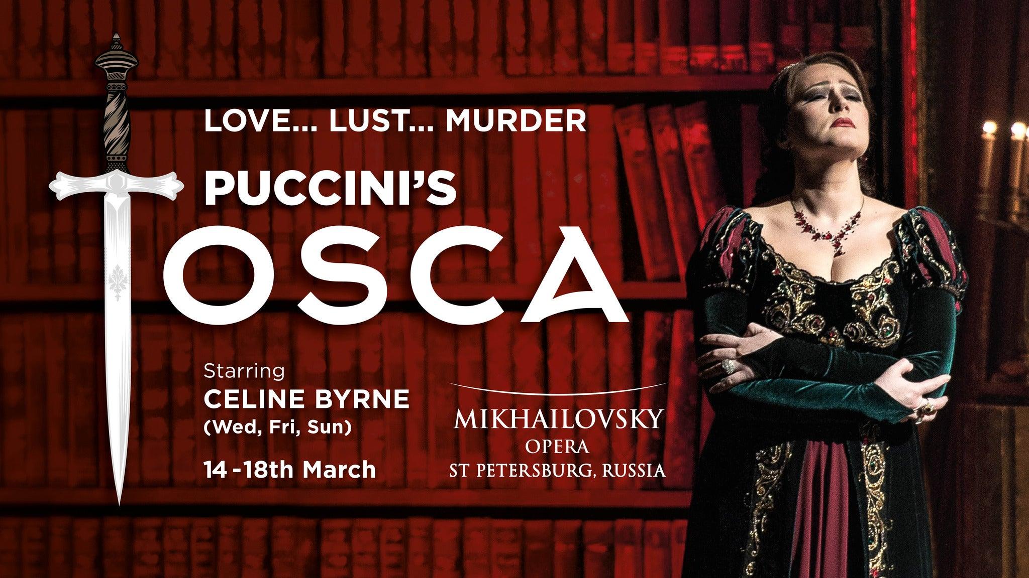 Tosca at Detroit Opera House at Detroit Opera House - Detroit, MI 48226
