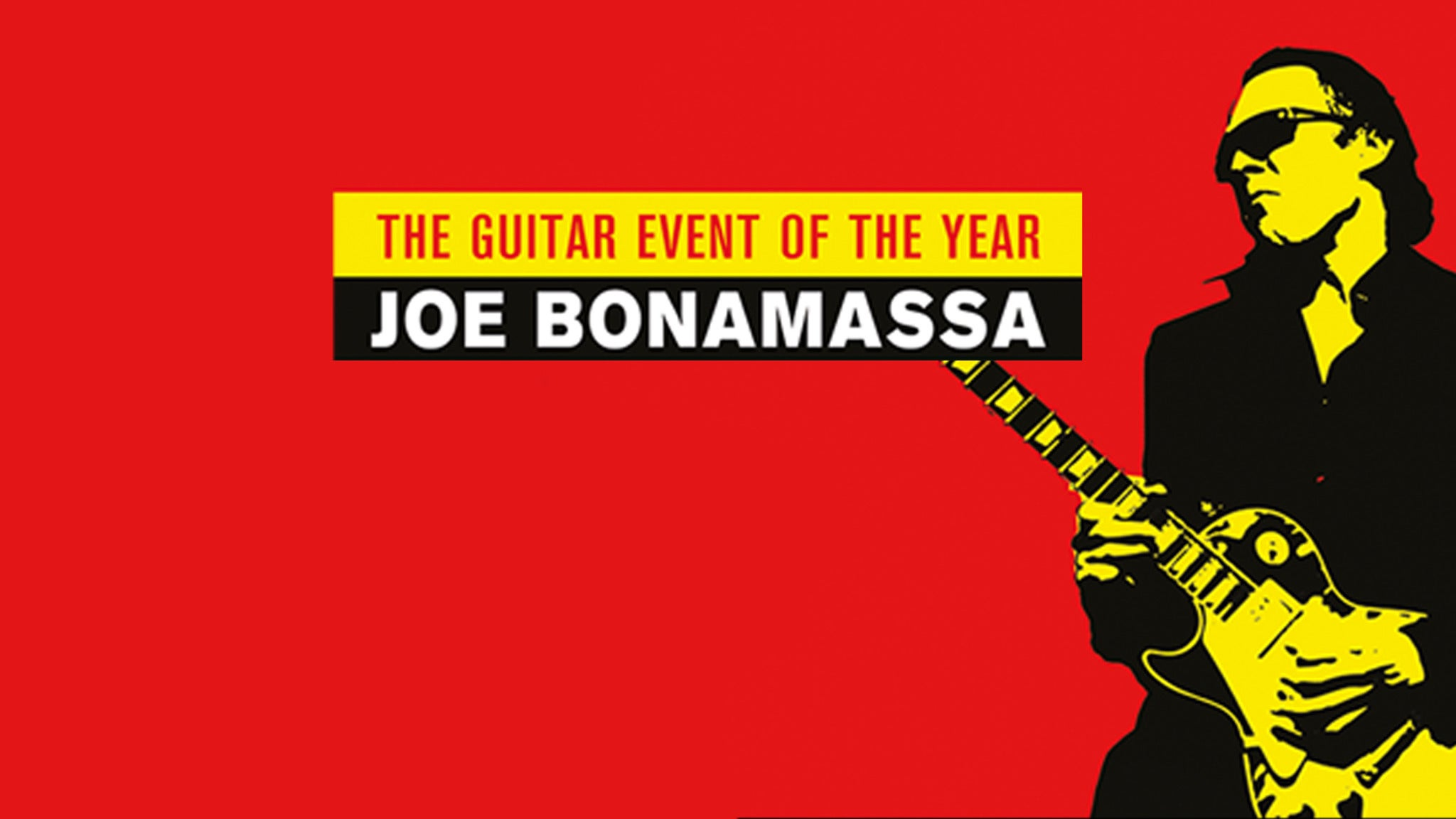 Joe Bonamassa at Bob Hope Theatre- CA