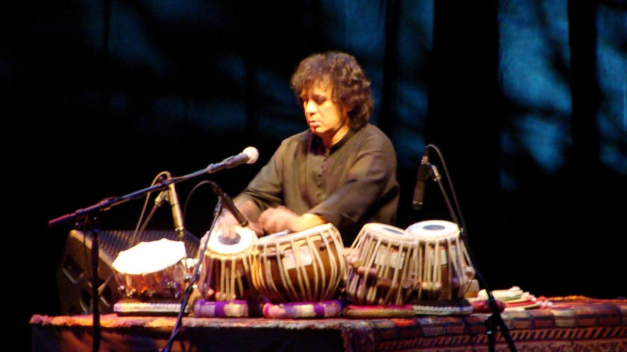 Zakir Hussain & Rahul Sharma at Royce Hall - UCLA