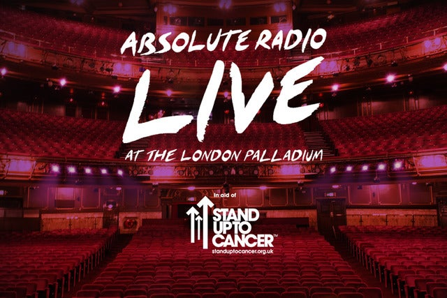 Absolute Radio Live hosted by Frank Skinner Seating Plans
