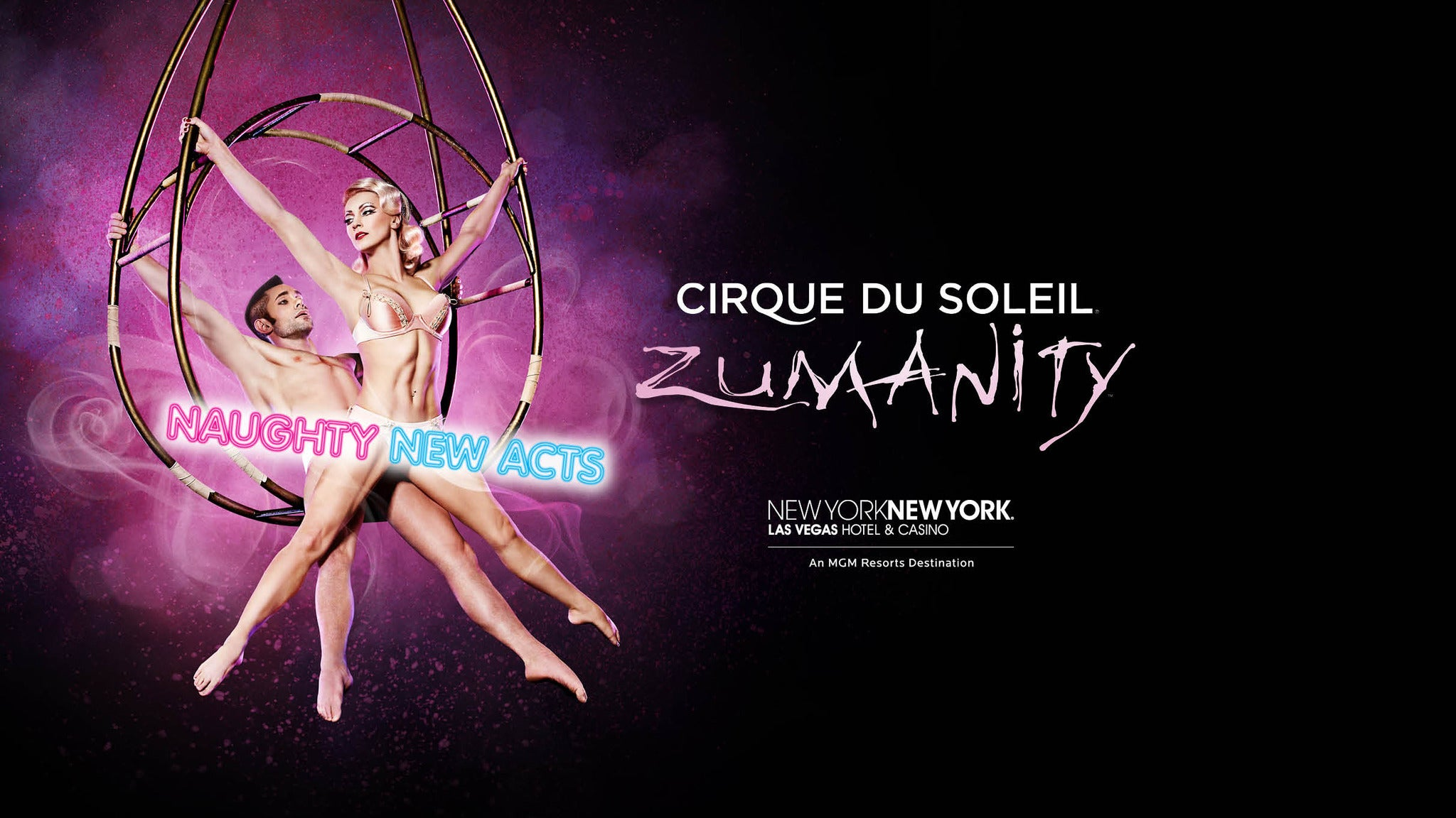 Cirque du Soleil: Zumanity tickets (Copyright © Ticketmaster)