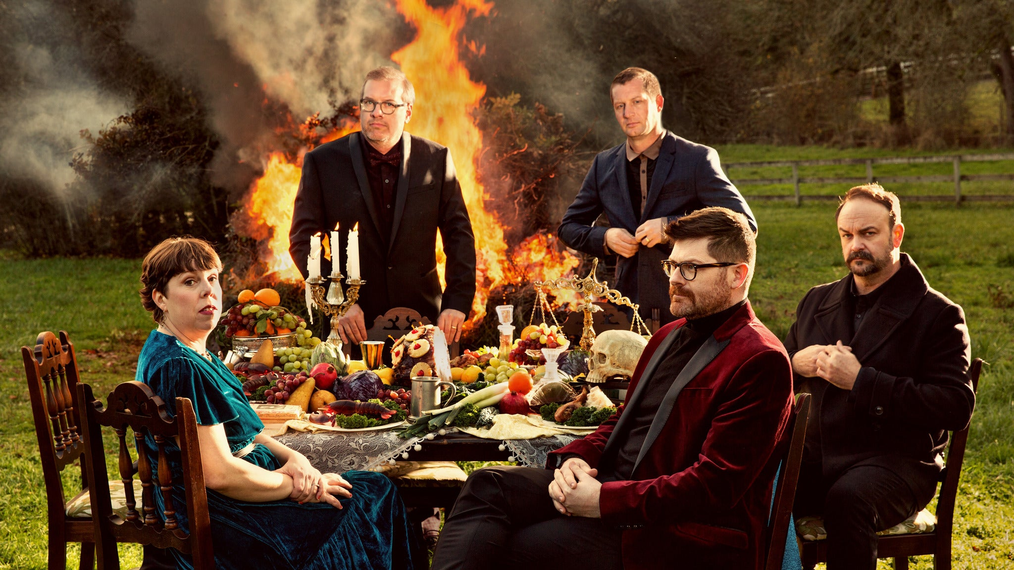 The Decemberists at Murat Theatre at Old National Centre