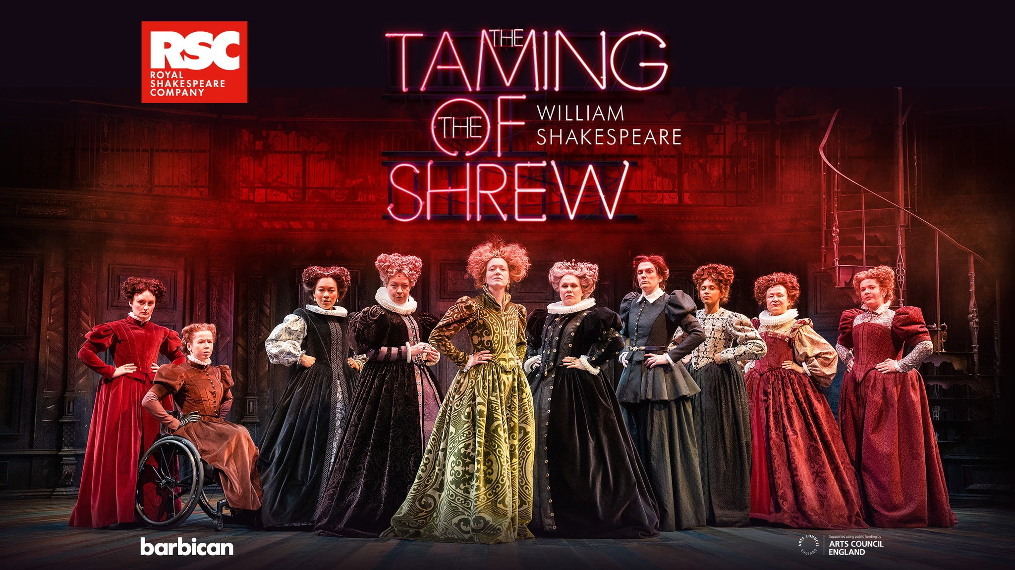 The Taming of the Shrew 2065 Event Title Pic