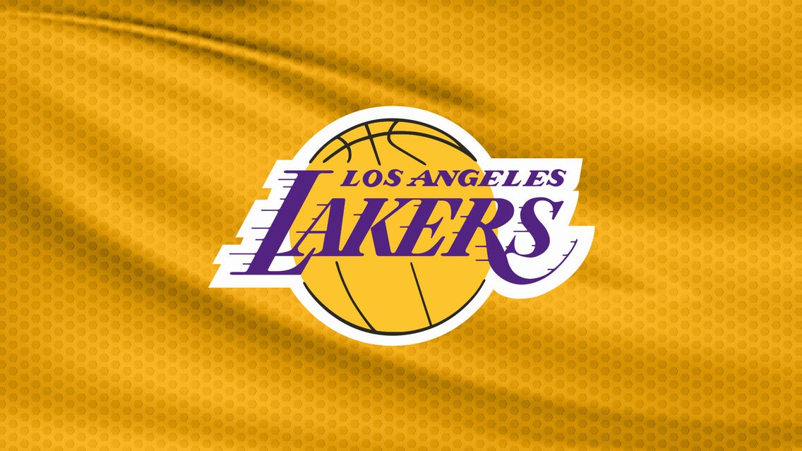 Los Angeles Lakers vs. Sacramento Kings