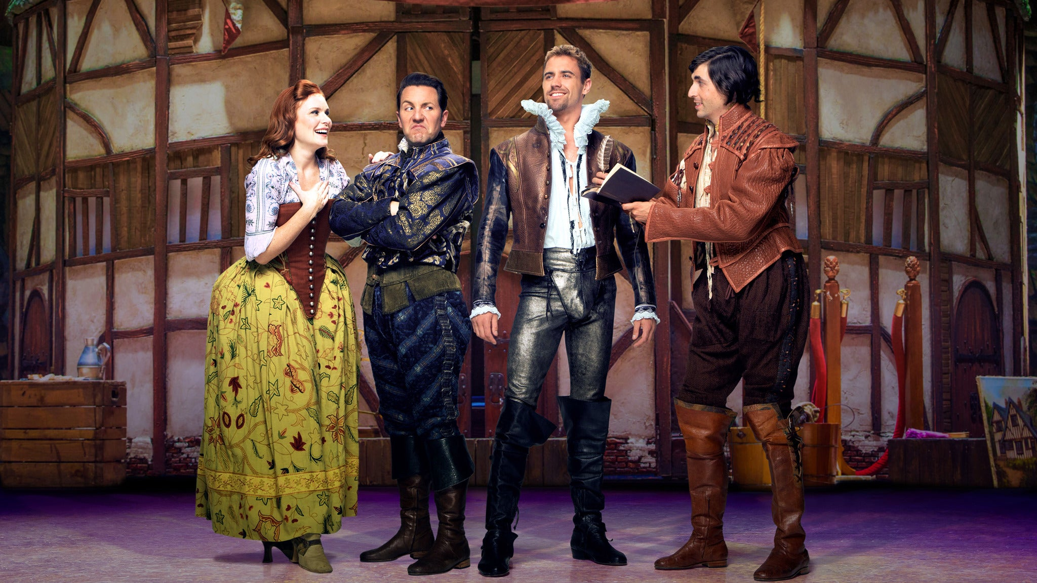 Something Rotten! at Midland Center for the Arts
