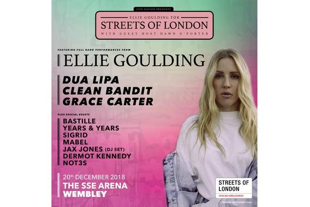 Ellie Goulding Seating Plans