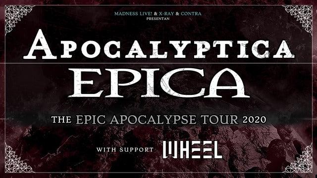 Apocalyptica + Epica + Wheel