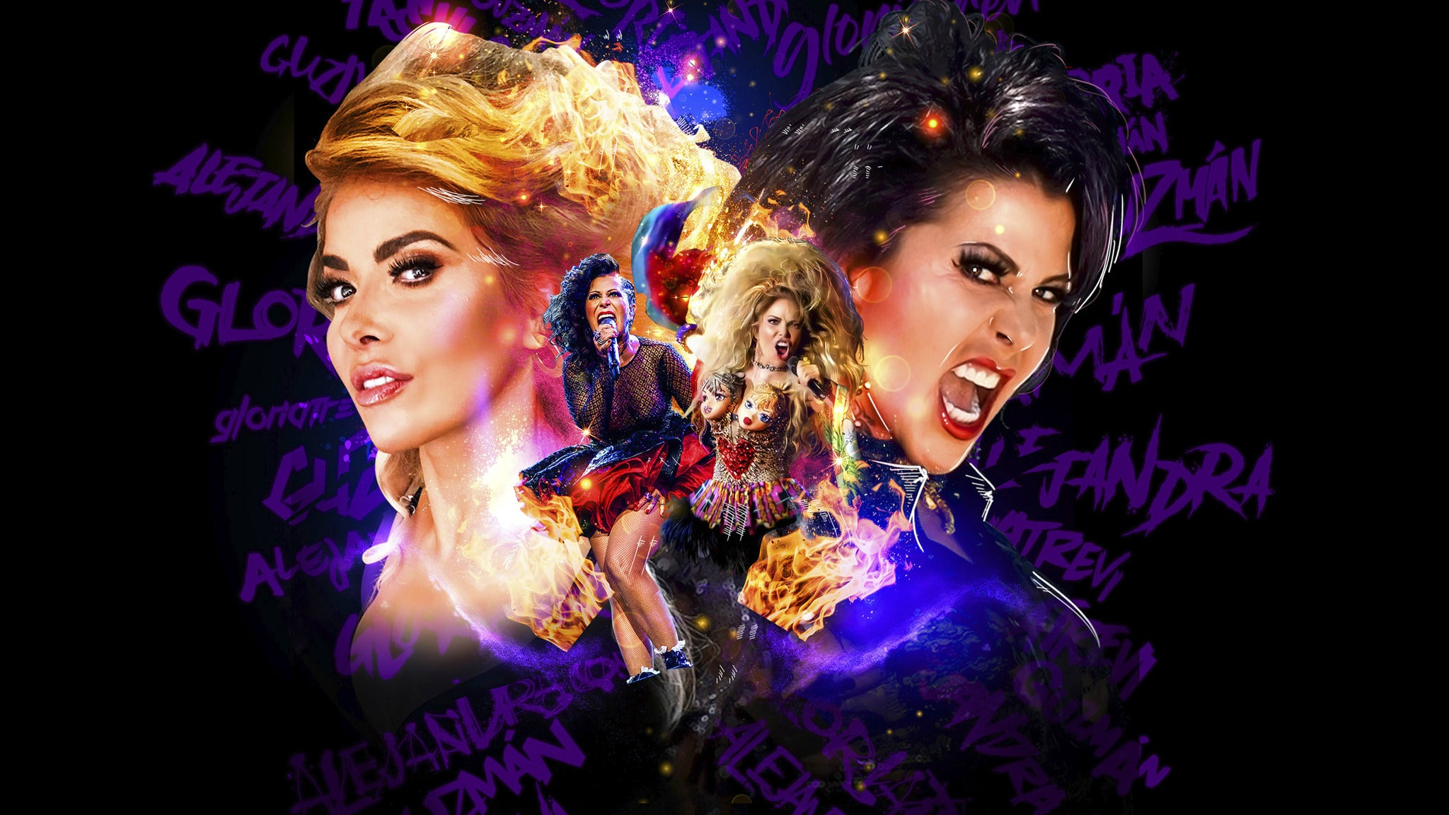 GLORIA TREVI VS ALEJANDRA GUZMAN at SAP Center at San Jose