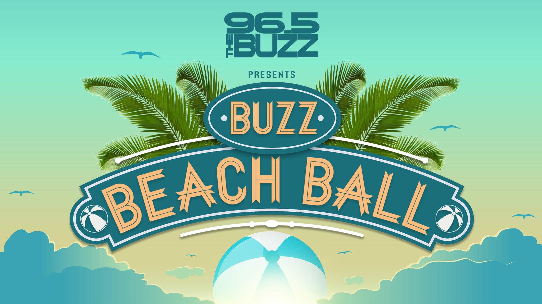 96.5 The Buzz presents Buzz Beach Ball 2018