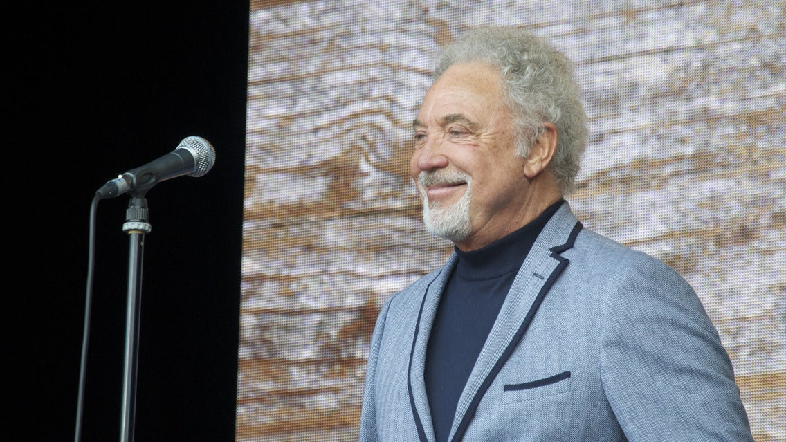 Tom Jones at Greek Theatre - Los Angeles, CA 90027