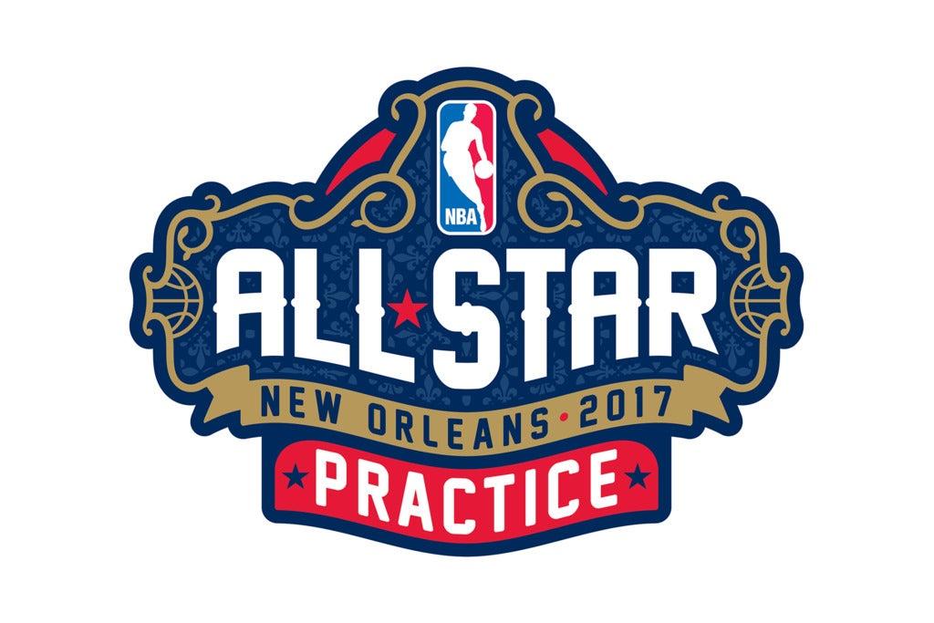 NBA All-Star Practice