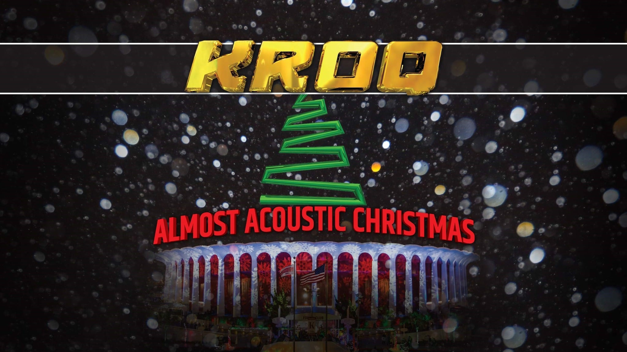 Kroq Almost Acoustic Christmas 2017 | Inglewood, CA | The Forum | December 10, 2017