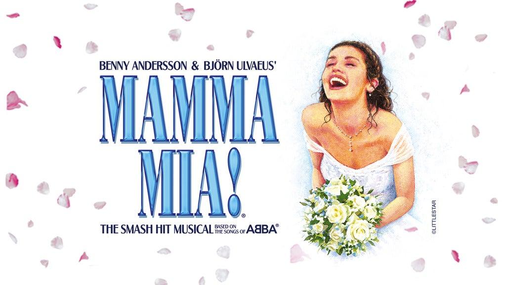 Hotels near Mamma Mia! (Touring) Events
