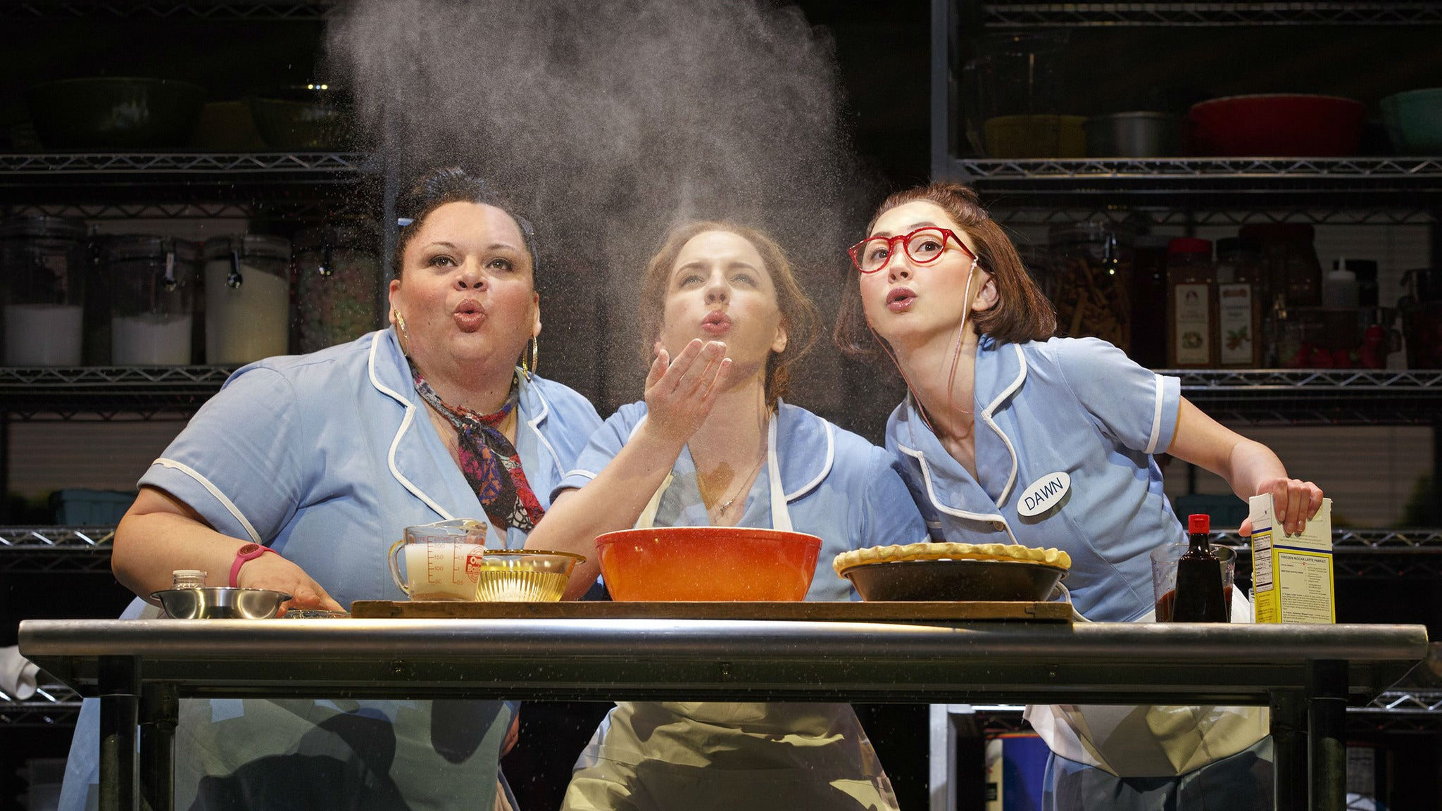 Waitress at Buell Theatre