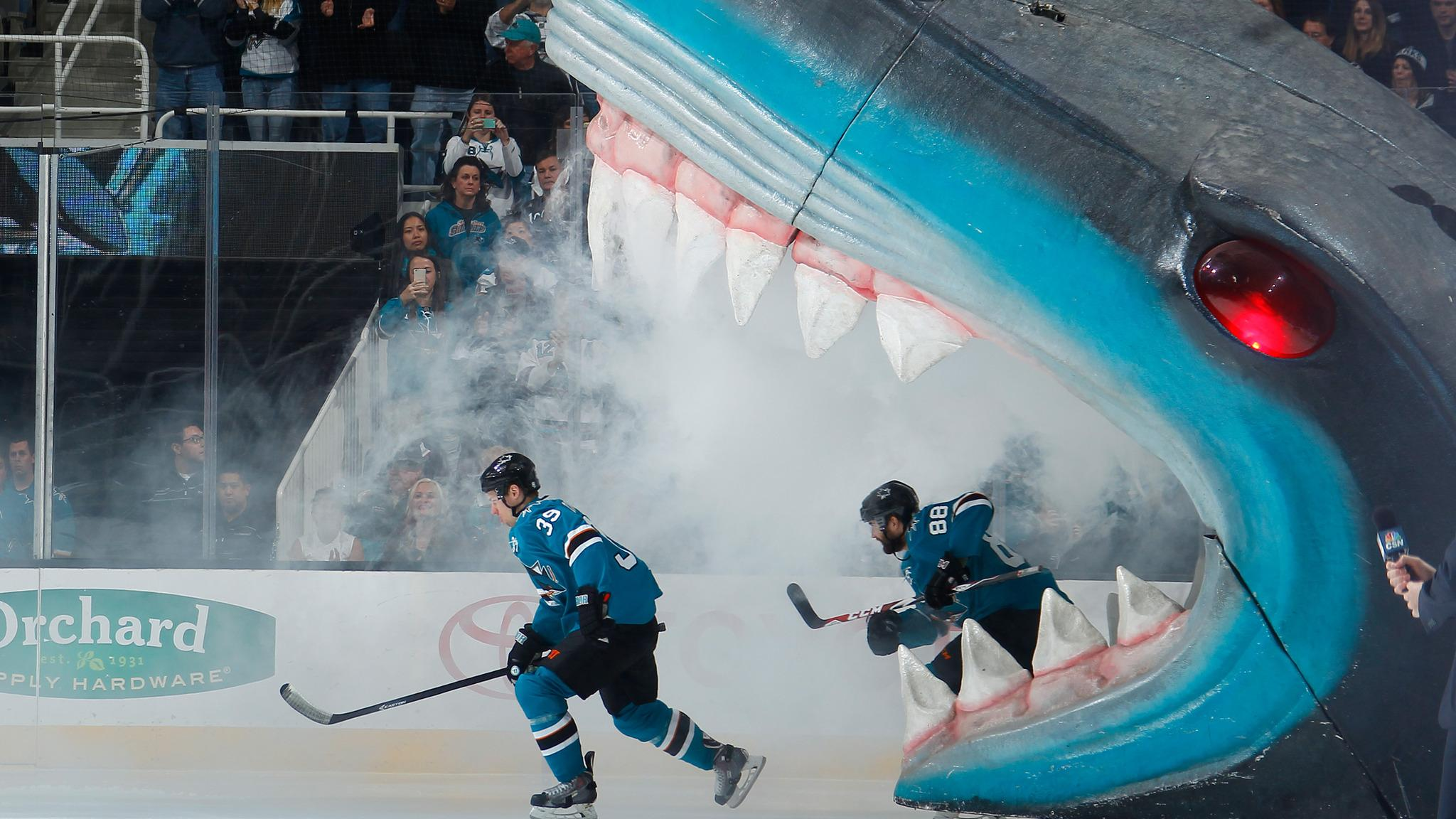 San Jose Sharks vs. Winnipeg Jets at SAP Center at San Jose