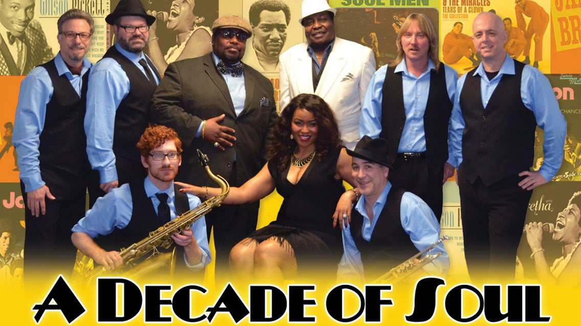 A Decade of Soul - Classic Soul and Motown Broadway Dinner Show   New York City, NY   B.B. King Blues Club   December 9, 2017