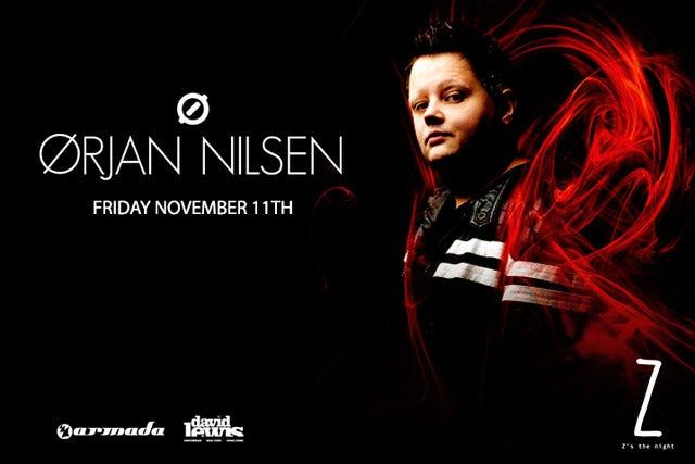 Orjan Nilsen at Audio Nightclub