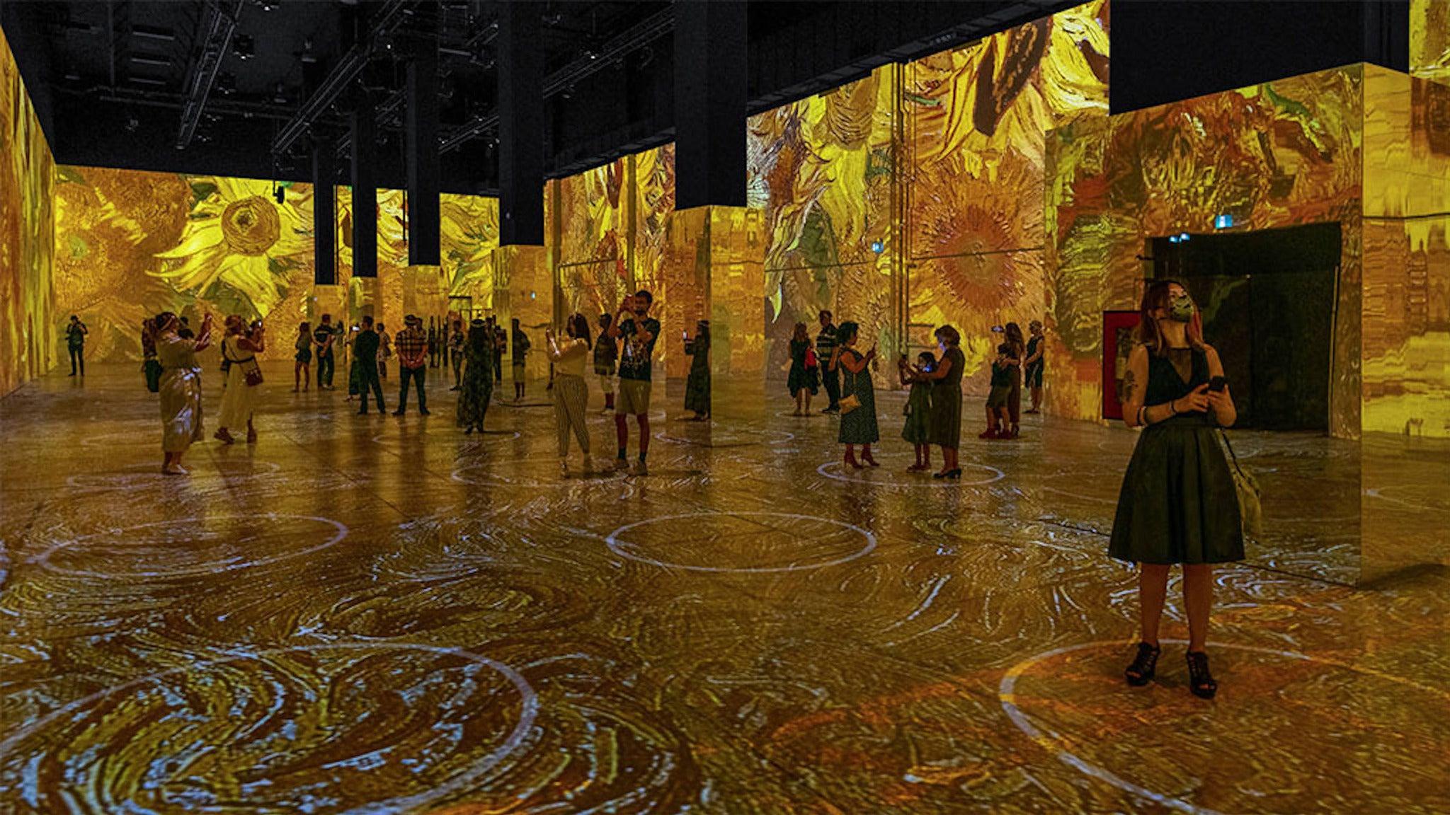 Immersive Van Gogh (Peak) at Secret Location - Orlando