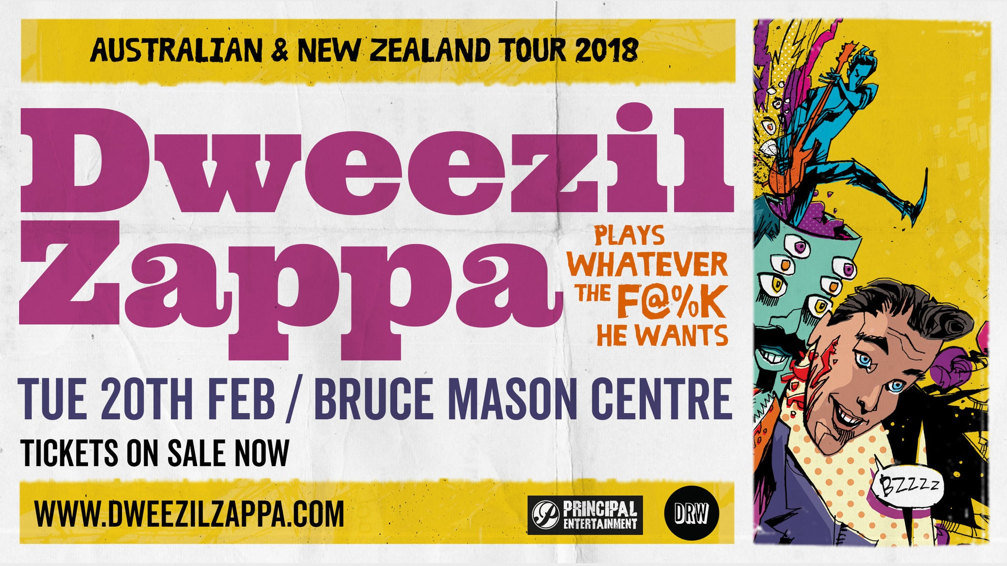 Dweezil Zappa Choice Cuts World Tour 2018 at The Queen