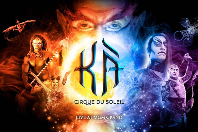 Cirque du Soleil: KA | Las Vegas, NV | Ka Theatre at MGM Grand Hotel | December 11, 2017