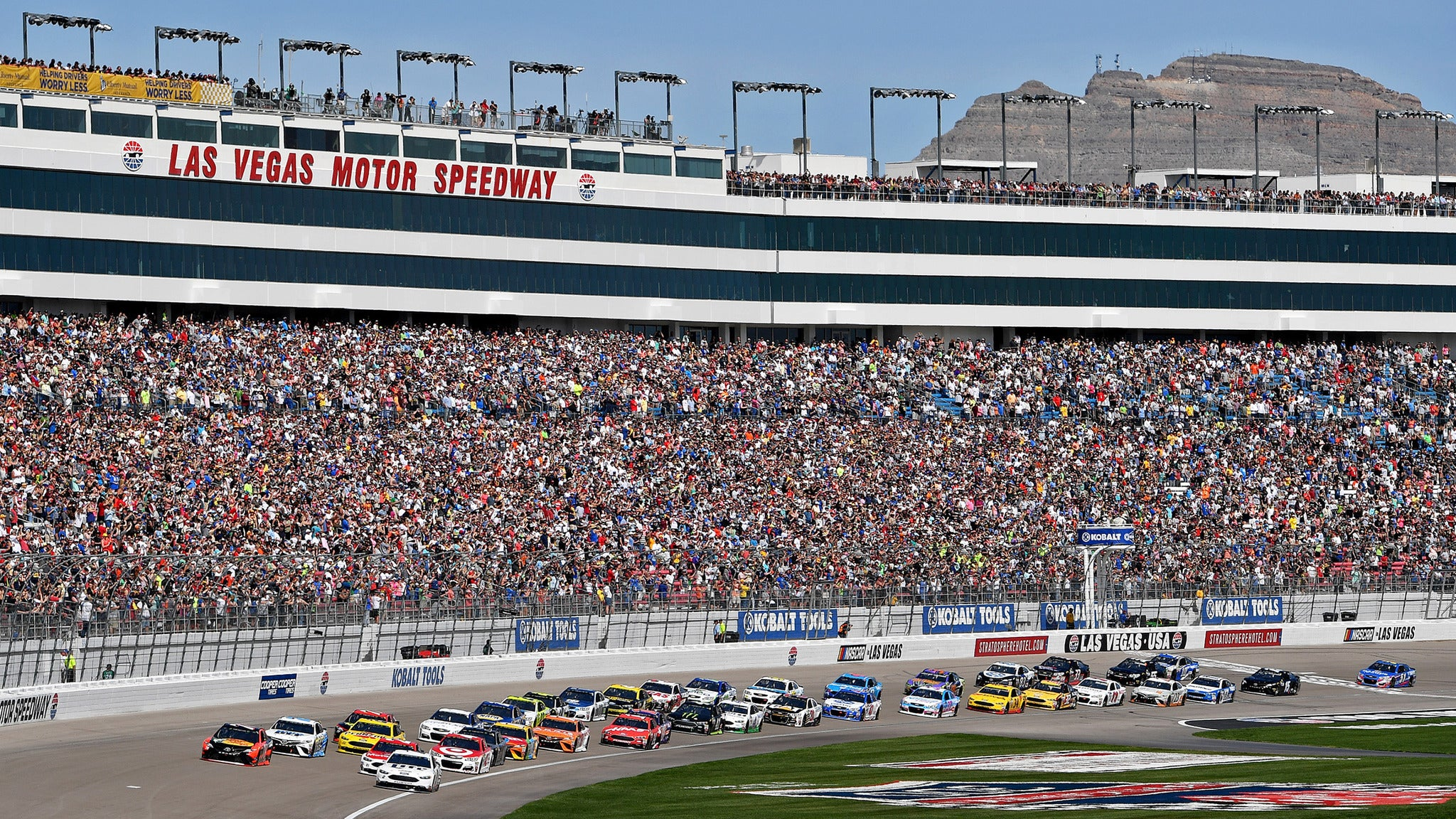 Pennzoil 400 Monster Energy Nascar Cup Series At Las