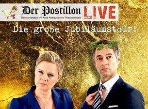 Der Postillon - Live in Heidelberg, 06.10.2020 - Tickets - Copyright Ticketmaster