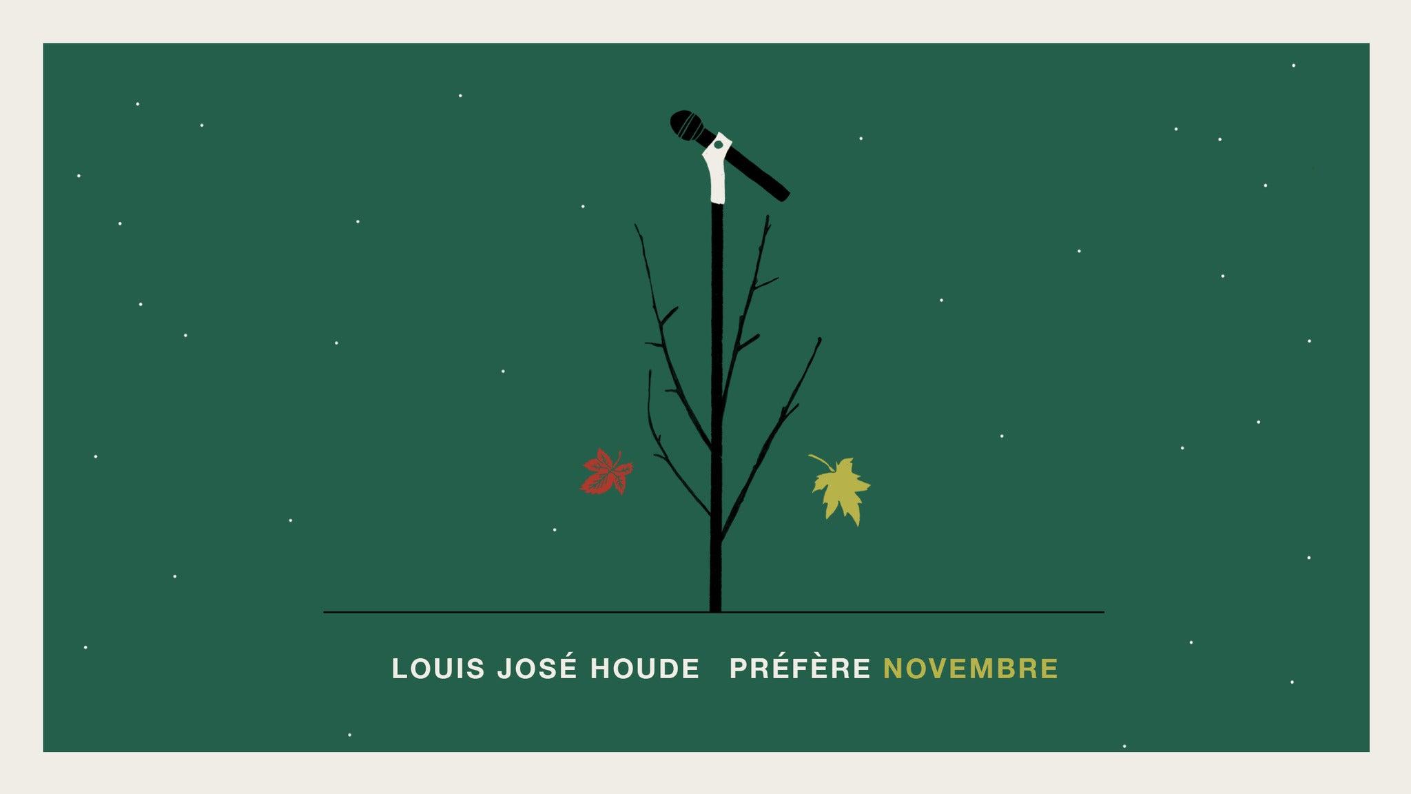 Louis-José Houde tickets (Copyright © Ticketmaster)