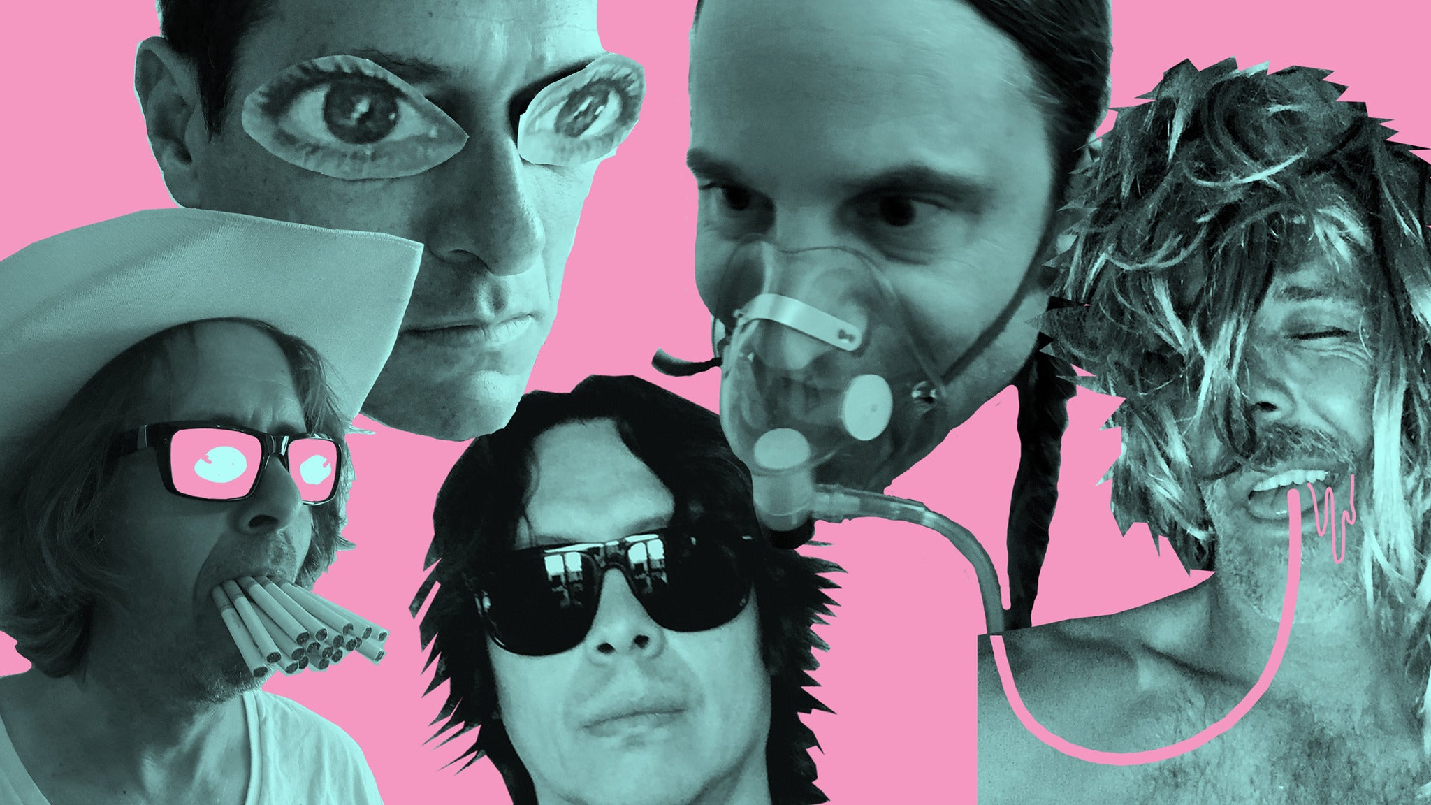 Hot Snakes at Marty's On Newport