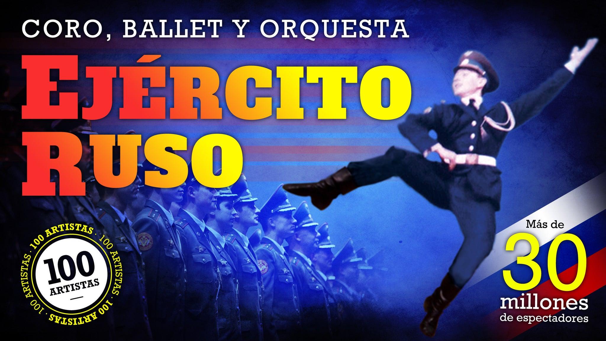 Coro, Ballet y Orquesta Ejercito Ruso