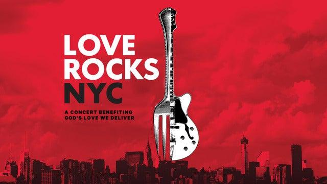 LOVE ROCKS NYC Benefitting God's Love We Deliver