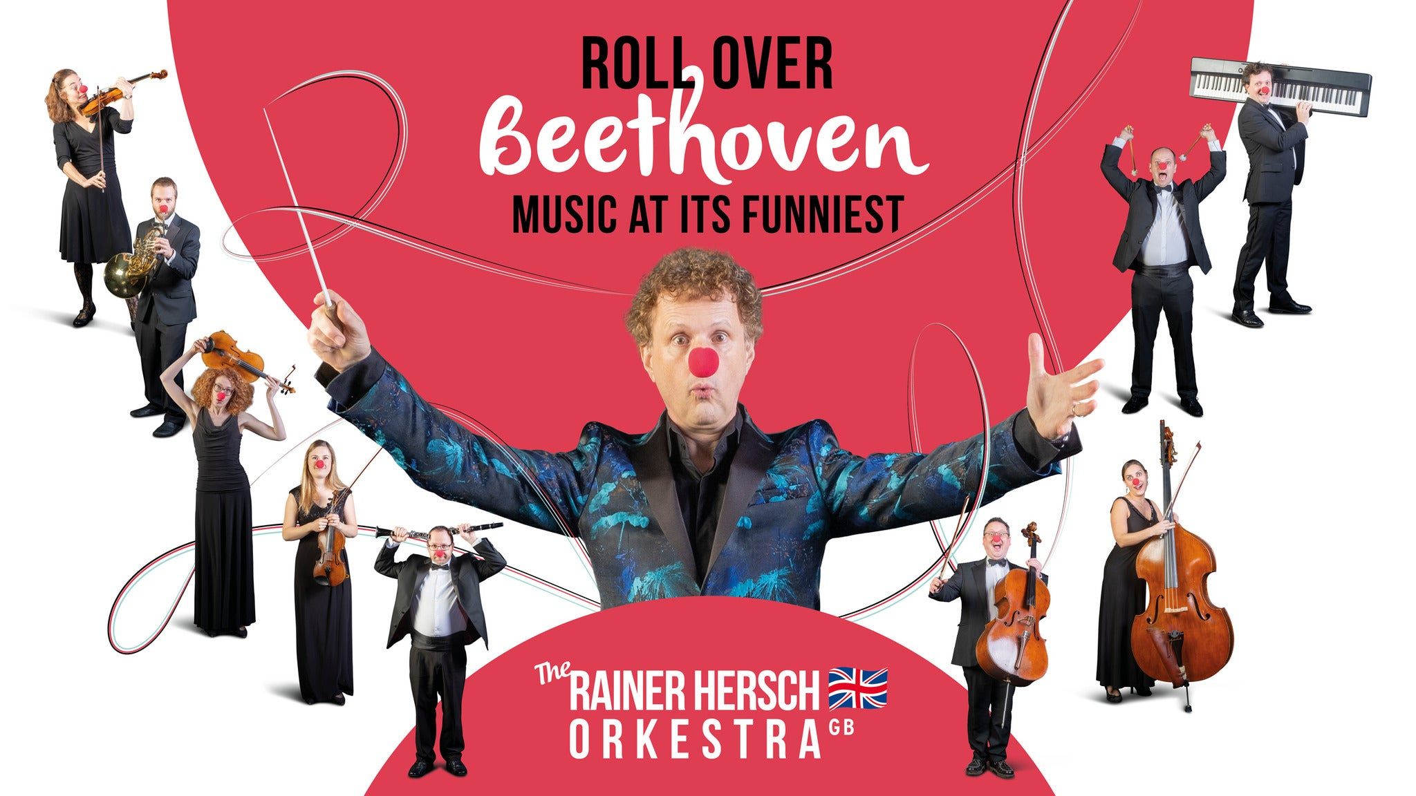 The Rainer Hersch Orkestra: roll Over Beethoven tickets (Copyright © Ticketmaster)