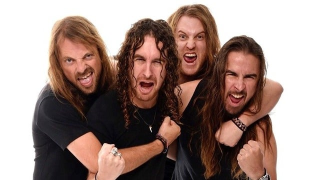 Airbourne tickets (Copyright © Ticketmaster)