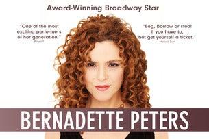 Bernadette Peters Seating Plans