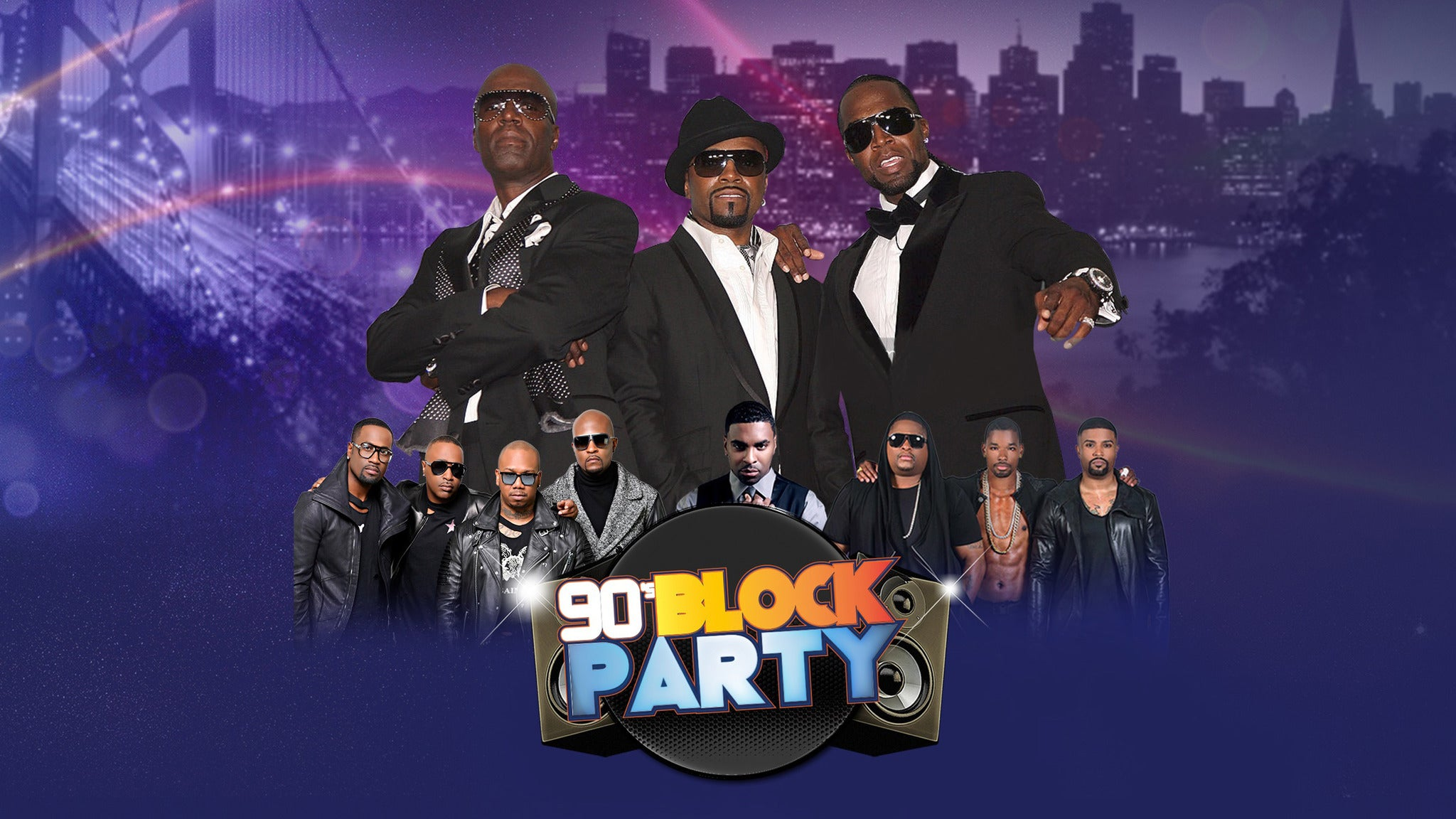Bay Area 90's Block Party at Paramount Theatre-Oakland