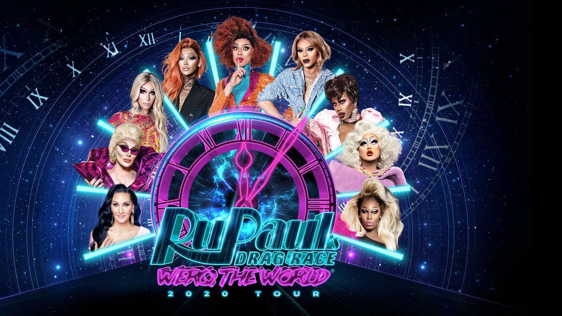 Rupaul's Drag Race: Werq the World Tour 2020 Seating Plan 3Arena