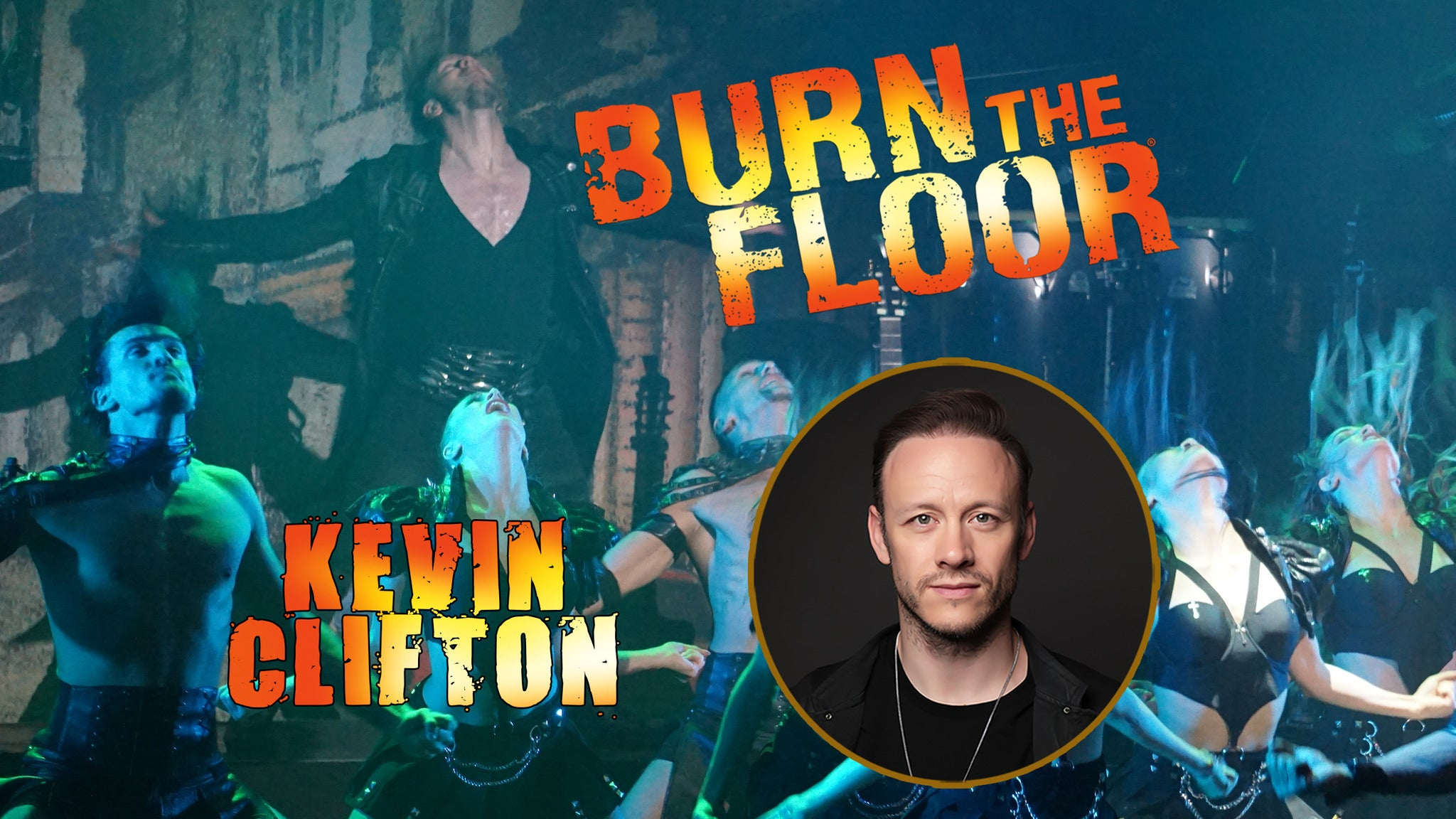Burn The Floor with Kevin Clifton tickets (Copyright © Ticketmaster)