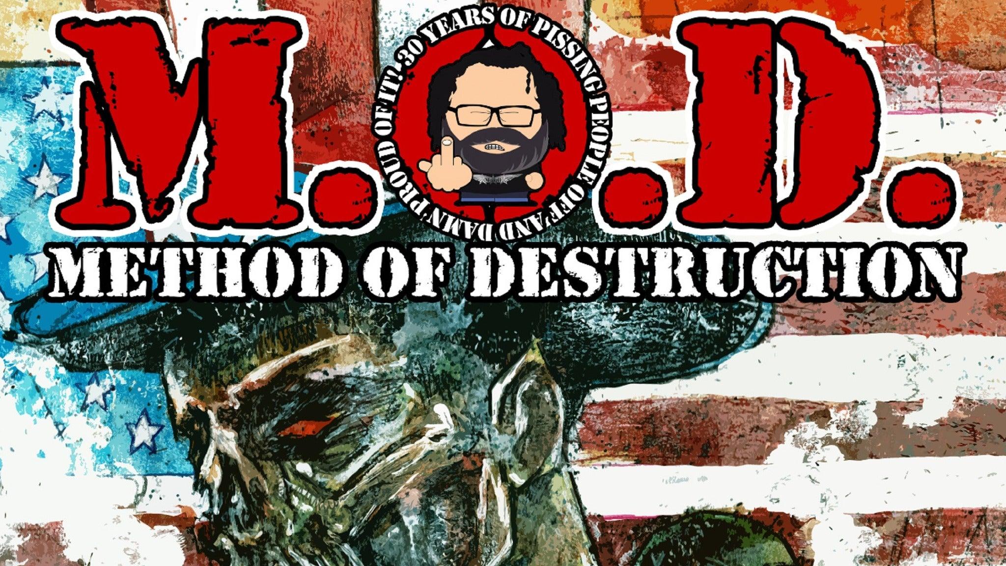 M.O.D. (Method of Destruction) wsg Skarhead