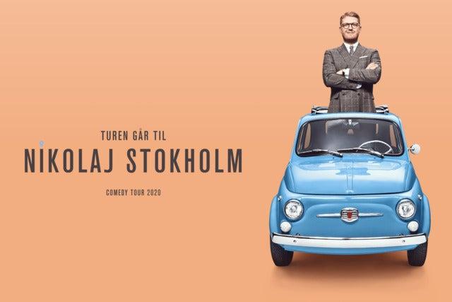 Turen Går Til Nikolaj Stokholm - UDSOLGT