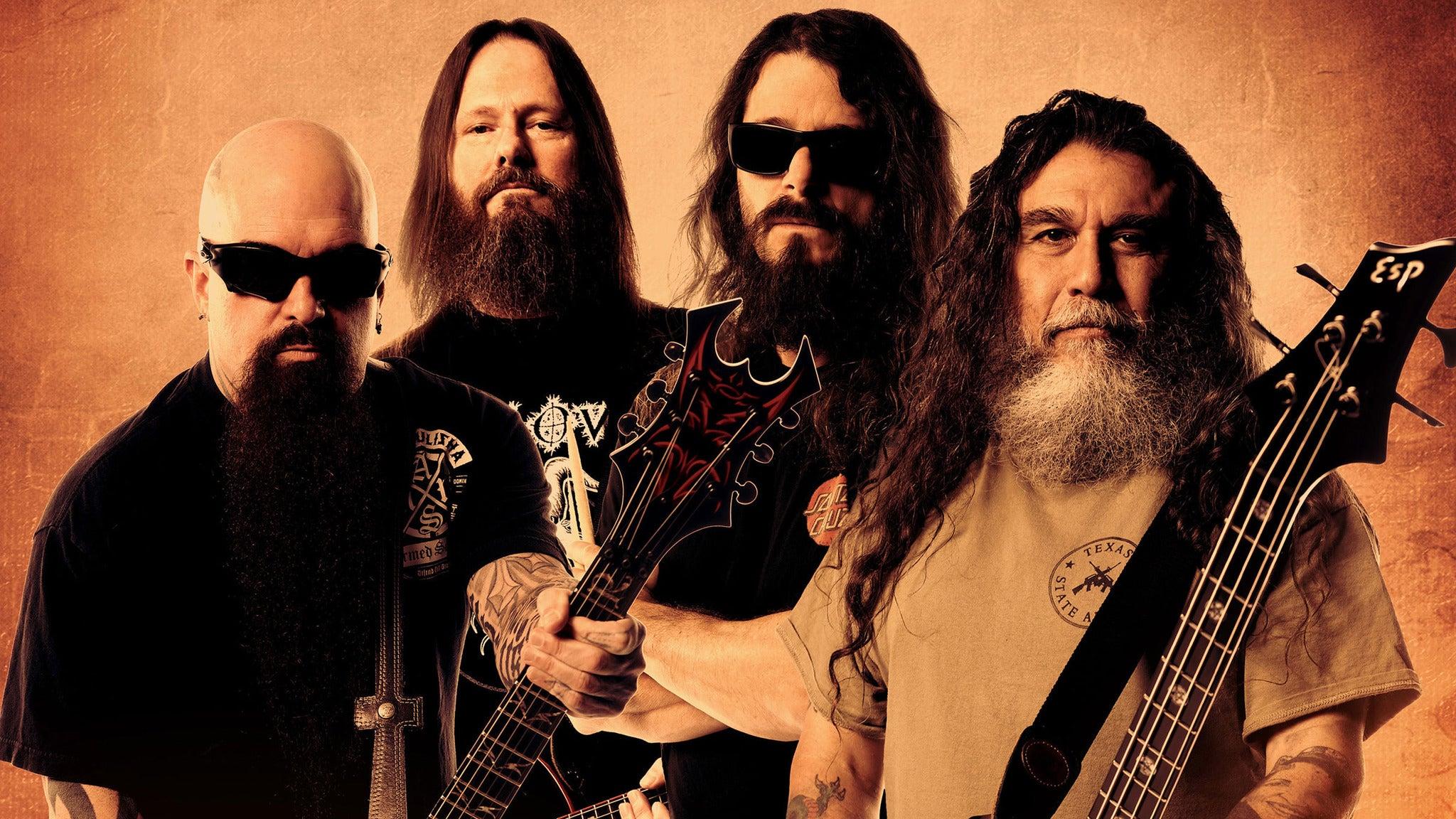 Slayer at Fillmore Auditorium (Denver)