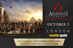 Assassin's Creed Symphony Eventim Apollo Seating Plan